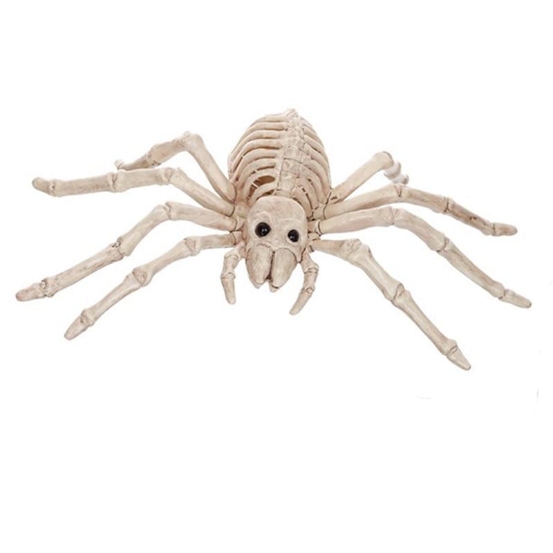 Skeleton Spider 100% պլաստիկ կենդանական կմախքի - Տոնական պարագաներ - Լուսանկար 1