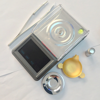 Touch Screen LCD Digital Milligram Scale 50g 0 001g Electronic Lab Laboratory Balance Weight Jewelry Scales
