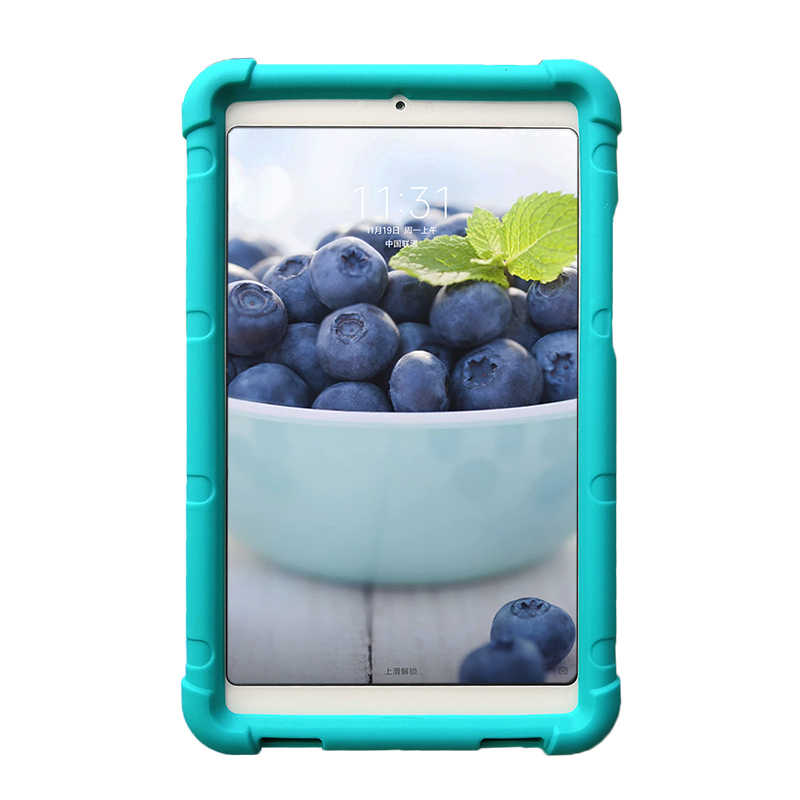 """Mi ngShore силиконовый Прочный чехол для планшета для Xiaomi mi Pad 4 8,0 """"Детский безопасный противоударный бампер чехол для Xiaomi mi Pad 4 Чехол"""