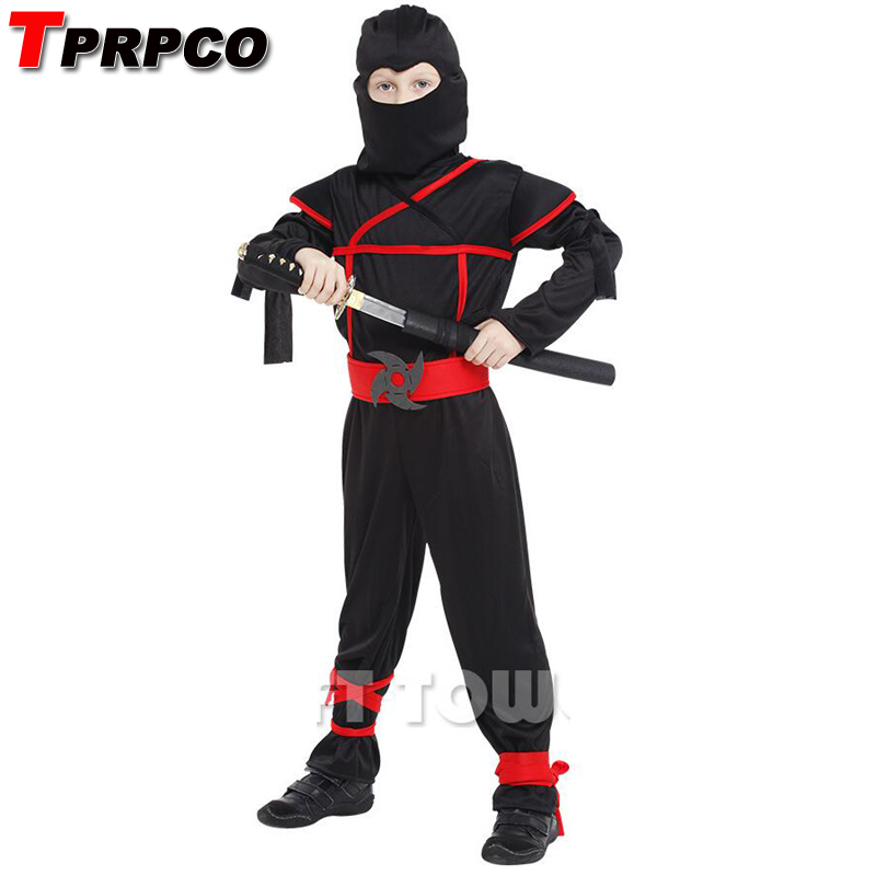 TPRPCO Classic Halloween Costumes Cosplay ninja Costumes for kids Fancy Party decorations supplies children NL118