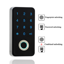 цены Gym Electronic Fingerprint Locker Lock Digital Keyless Private Keypad Password Cabinet Lock For Office Home