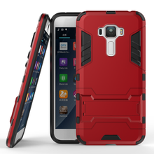 For Asus Zenfone 3 ZE552KL Case Z010D Heavy Duty Armor Case Hybrid Hard Silicone Rubber Phone Cover For Asus Zenfone 3 ZE552KL ((China)