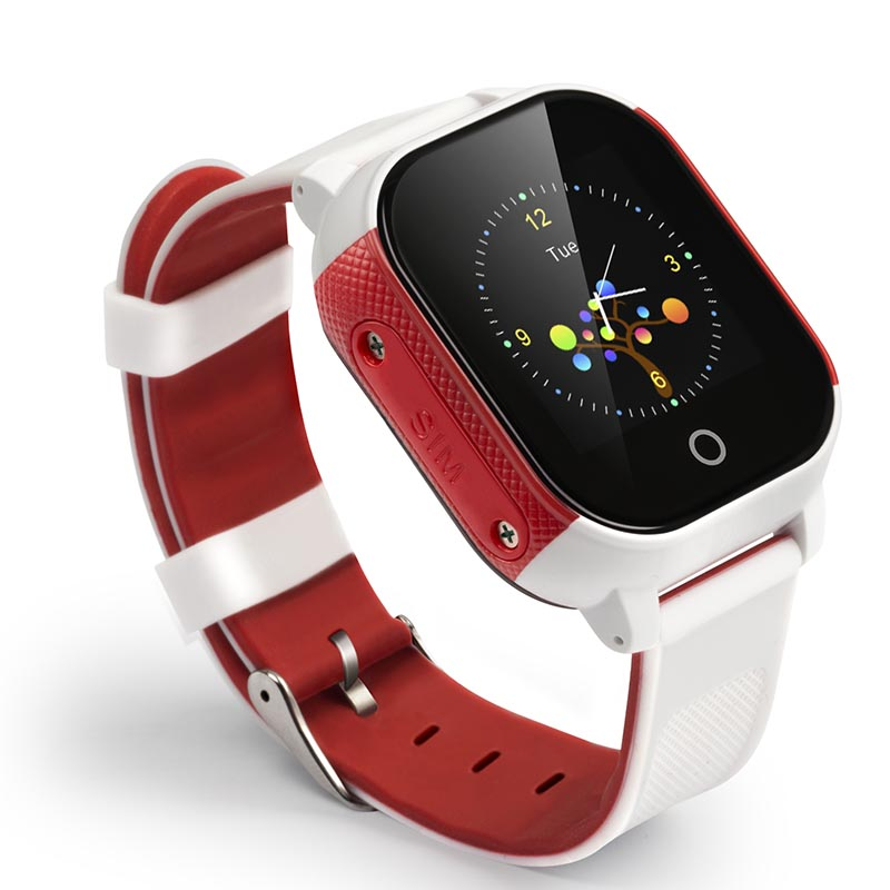 Multi-color Optional Support Touch Screen IP67 Waterproof Grade GPS+WIFI+LBS Positioning Smart Kids GPS Watch FA23