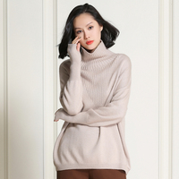 100 Pure Cashmere Women Fashion High Quality Wool Cashmere Lazy Loose Long Thread Sleeve Triangular Twill