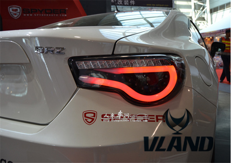 Free shipping Vland Factory car lamp for Toyota FT 86 BRZ all-LED taillight LED light bar plug and play for year model 2007-2015 free shipping vland car lamp for toyota
