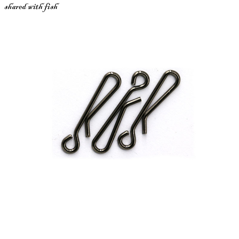 20pcs lot fishing line wire connector fishing barrel for Fishing swivel knot