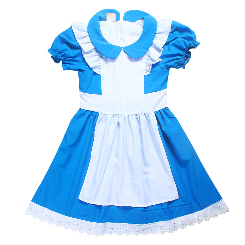 e720e2d662b Summer Girls Dresses Alice In Wonderland Fairy Tale Princess Wedding Party Dress  Baby Girl Dress Elsa Costume Kids Clothes