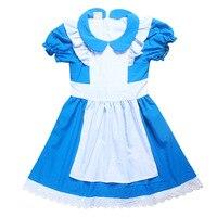 2017 Summer Girls Dresses Alice In Wonderland Fairy Tale Pincess Wedding Party Dress Baby Girl Dress