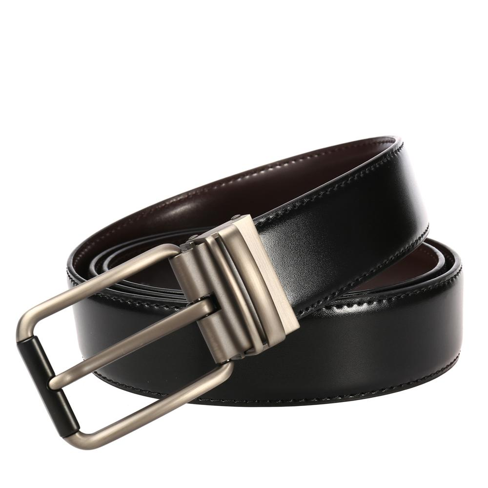2019 Men Belt Cow Genuine Leather Luxury Strap Male Belts for Men New Fashion Classic Belts Vintage Pin Buckle 110 130CM in Men 39 s Belts from Apparel Accessories