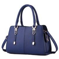 Fashion Simple PU Geniune Leather Shoulder Bag Messenger Bag Women Bag The New Wave Of Models
