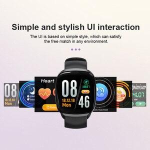 Image 4 - النساء ساعة ذكية جهاز مراقبة اللياقة الرياضية مراقب معدل ضربات القلب Smartwatch بلوتوث تحكم بالموسيقى للماء ووتش لالروبوت