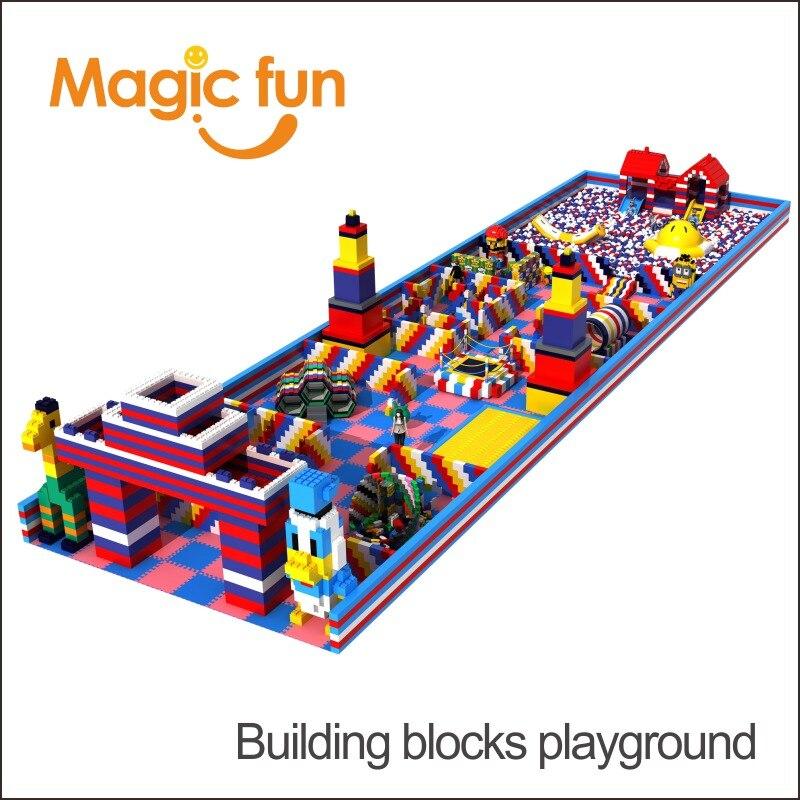 MAGIC FUN новый дизайн Коммерческая огнестойкая epp пена строительный блок цена для детей