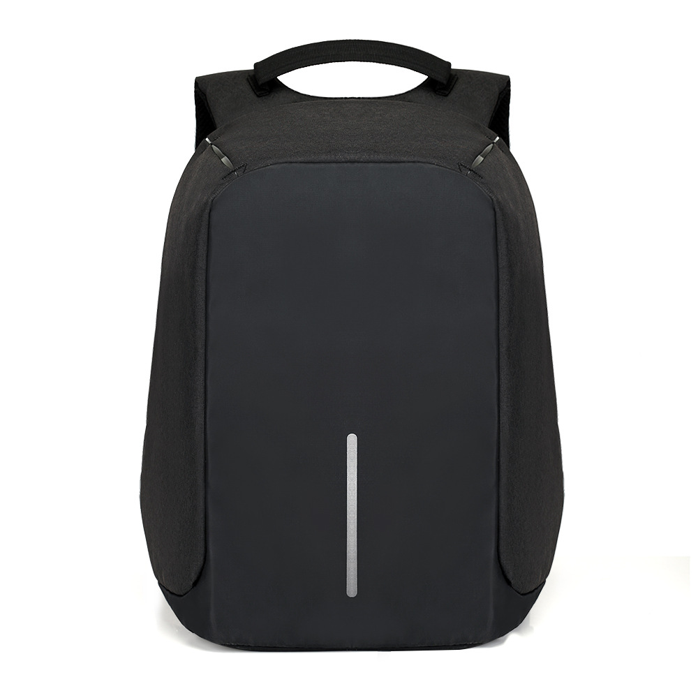 Men's anti theft backpack Black 14 inch Notebook backpack for teenager USB Charge design bobby school bag Mochila anti roubo 14 inch waterproof oxford usb charging men s women backpack mochila for womens school bag pack laptop notebook xd design bobby