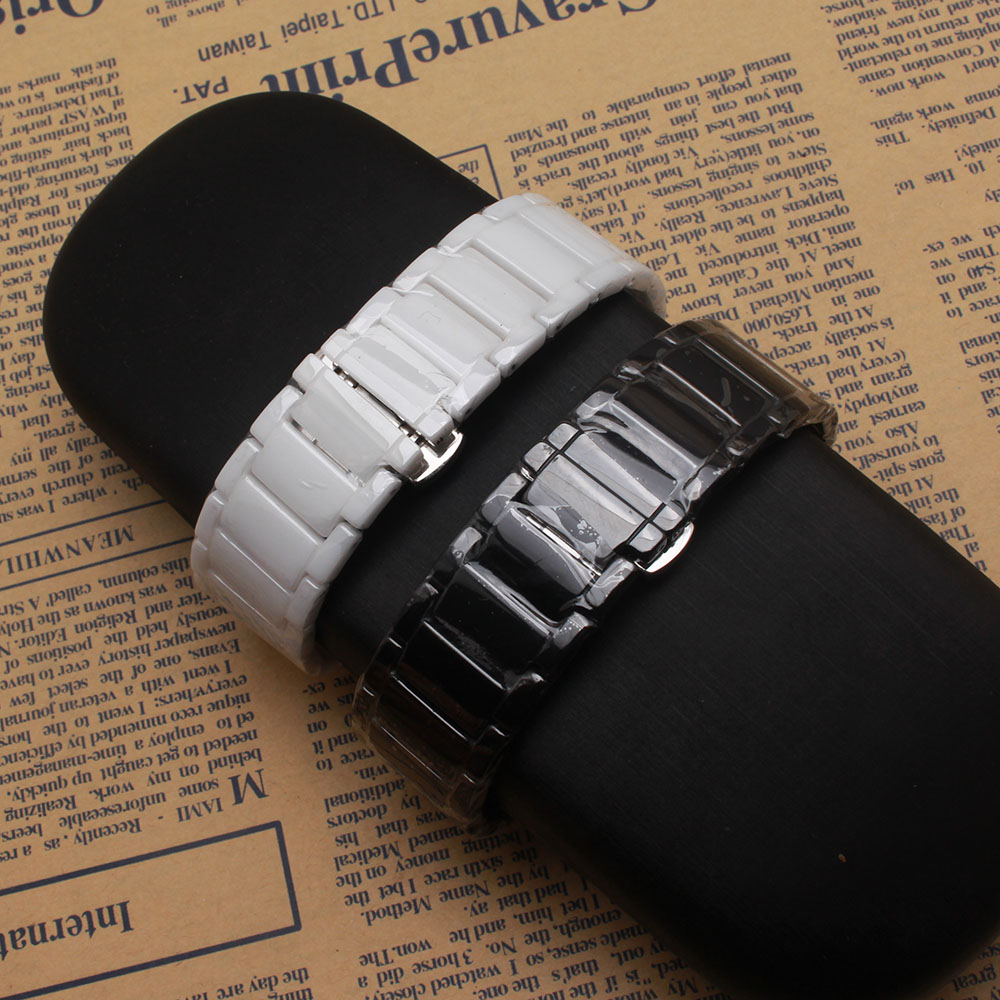New arrived HUAWEI watchband 18mm ceramic watchb and High quality watch strap for Huawei S1 smart watch band Bracelet convex end wholesale price high quality fashion high quality stainless steel watch band straps bracelet watchband for fitbit charge 2 watch