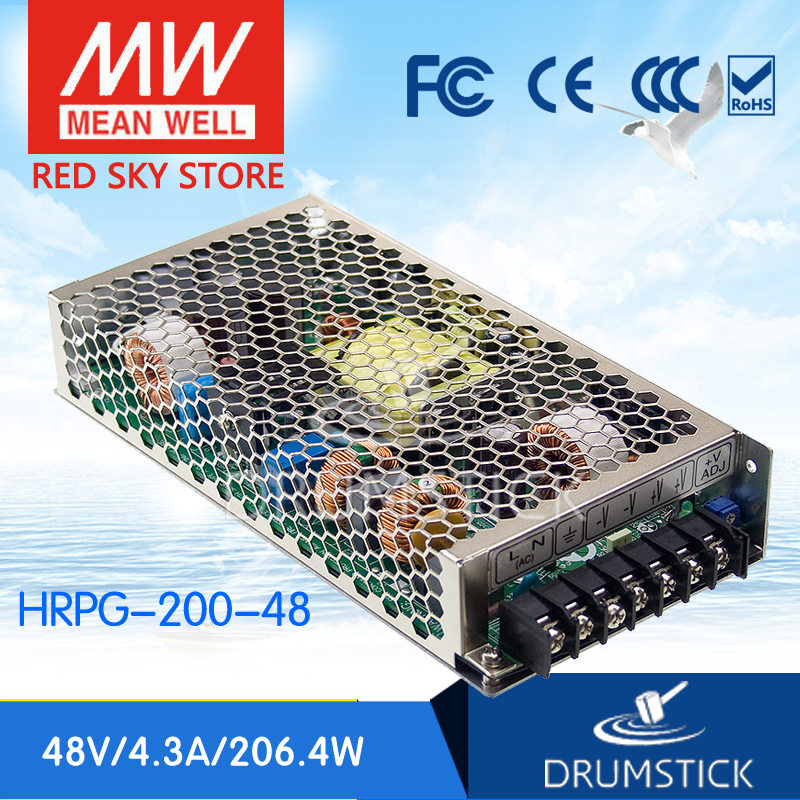 Advantages MEAN WELL HRPG-200-48 48V 4.3A meanwell HRPG-200 48V 206.4W Single Output with PFC Function  Power Supply [Real1] advantages mean well hrpg 200 24 24v 8 4a meanwell hrpg 200 24v 201 6w single output with pfc function power supply [real1]