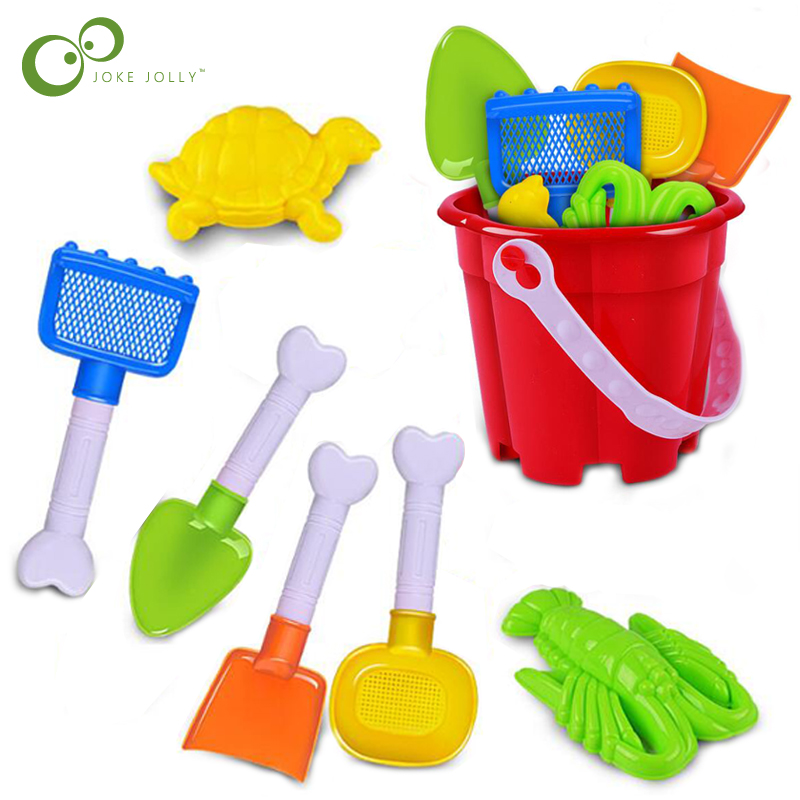 Random Color The Latest Fashion Beach/sand Toys Just 2-in-1 Soft Rubber Sandbeach Toy Set Outdoor Beach Sanding Toy Sand Shovel And Target Pools & Water Fun