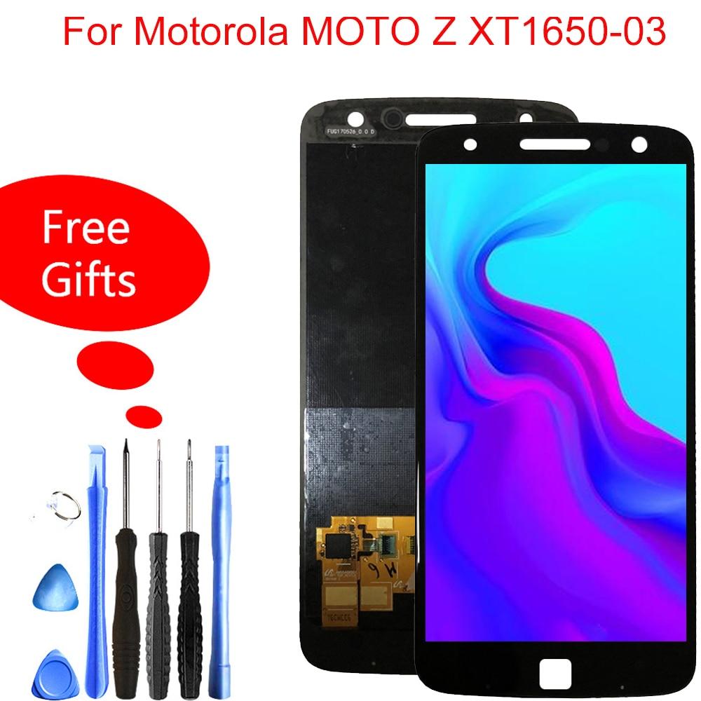 Quality Lcd For Motorola Moto Z lcd XLTE LCD Display Touch Screen XT1650 xt1650-03 Lcd Digitizer Full Assembly ReplacementQuality Lcd For Motorola Moto Z lcd XLTE LCD Display Touch Screen XT1650 xt1650-03 Lcd Digitizer Full Assembly Replacement
