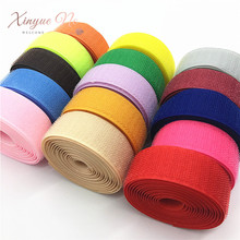 2.5cm*5M/pair Magic Tape NO Self Adhesive Fastener Tape DIY Polyester Nylon Hook Loop Fastener Sewing Accessories No Strong Glue 2 5cm 5m pairs black white magic tape hook and loop self adhesive fastener tape strip with strong glue for home supplies