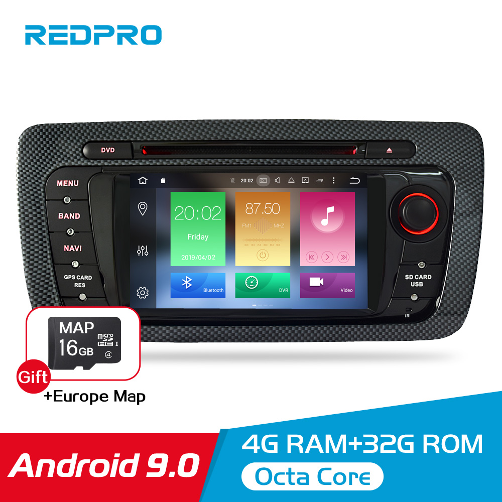 "7"" HD Android 9.0 Car DVD For Seat Ibiza 2009 2010 2011 2012 Auto Radio FM RDS Stereo WiFi GPS Navigation Audio Video headunit-in Car Multimedia Player from Automobiles & Motorcycles"