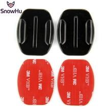 цена на Sport Camera Accessories 2X Flat mount VHB Adhesive Sticky for GoPro Hero 3+/3/2/1,SJ4000 SJ5000,Xiaomi Camera    GP12