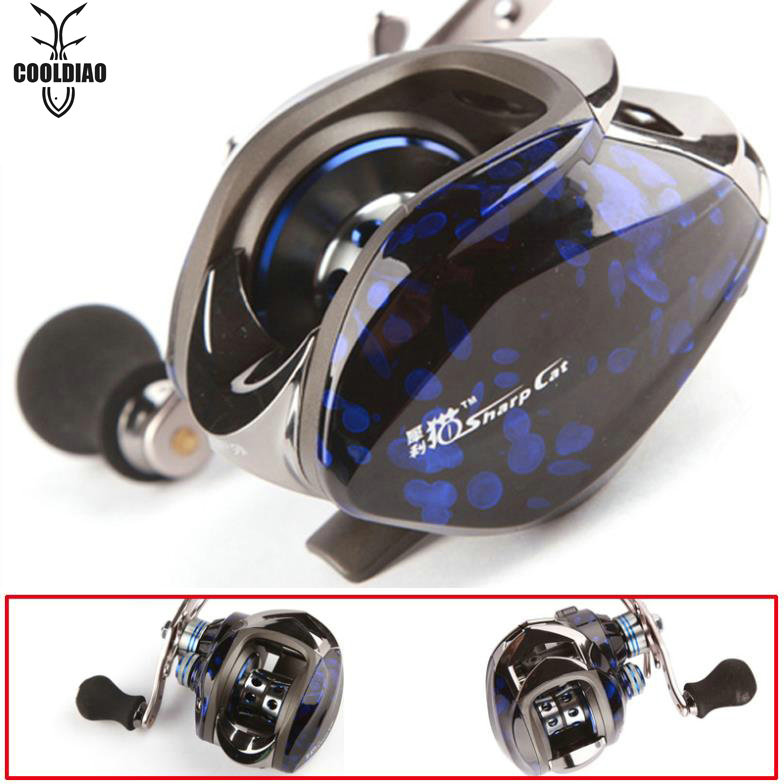 ФОТО HOT SELL!! 11BB Fishing Reel 6.3:1 Right/Left Hand baitcasting reel lure fishing reels 10+1bb Fishing Tackle line wheel