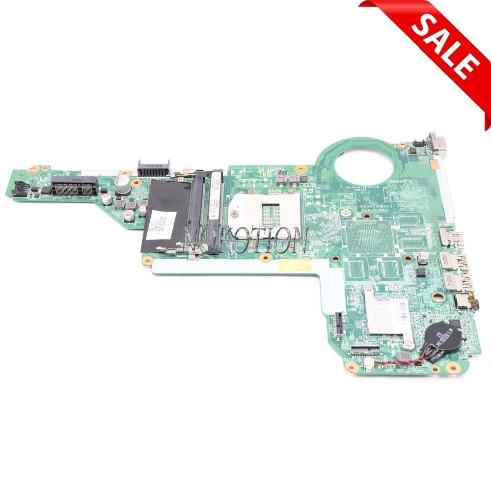 NOKOTION 713255-501 713255-001 Laptop motherboard For HP Pavilion 15 17 15-E 17-E DA0R63MB6F1 HM86 GMA HD DDR3L Main board