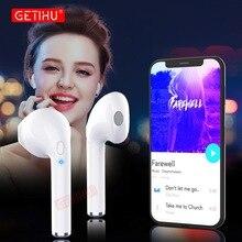 Беспроводные наушники GETIHU Bluetooth наушники для Apple iPhone samsung наушники в ухо Air мини-наушники Pods гарнитура