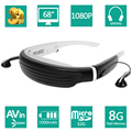 """VISION720 68"""" Private Virtual Theater 3D Video Games Glasses 1080P 4:3 Widescreen 8GB Memory with TF Card Slot AV-IN for TV Box"""