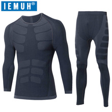 2017 Winter Spring Thermal Underwear Sets Men Brand Quick Dry Anti-microbial Stretch Men's Thermo Male Warm Long Johns