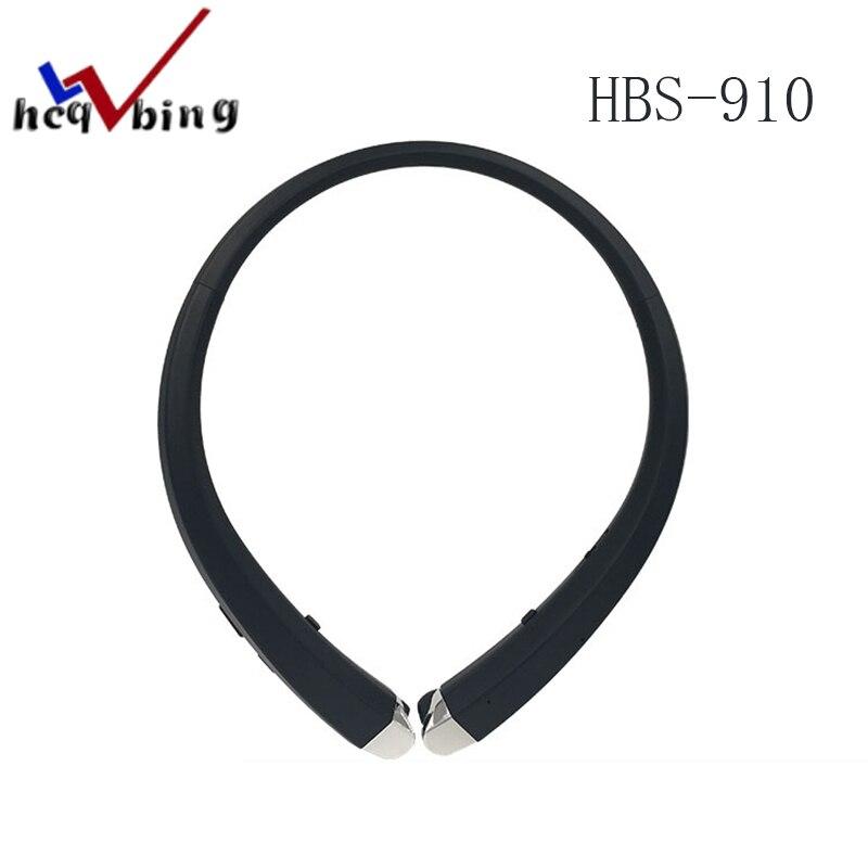 HCQWBING D'origine HBS 910 RSE Bluetooth 4.0 Casque HBS-910 Sans Fil Écouteurs Avec Son HD pour Apple iphone xiaomi Téléphone