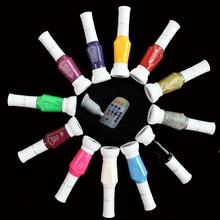 Nail Polish Art Pen 3D Vernis A Ongles Pens Set Glitter Esmalte Para Unha 12 colors Nagellak For Paint Varnish Lacquer Lot 023 12 color nail art paint pens set 12 pcs
