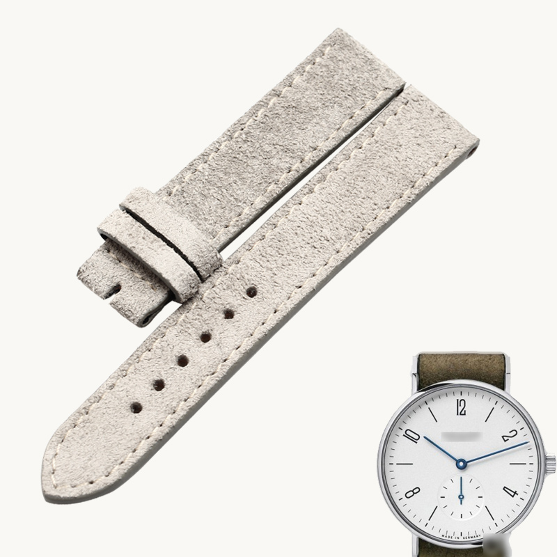 wentula watchbands for NOMOSTANGOMAT602 TANGENTE calf-leather band cow leather Genuine Leather leather strap watch band