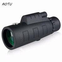 50x60 HD Monocular Telescope Binoculars Zooming Focus Green Film Binoculo Optical Hunting High Quality Tourism Scope