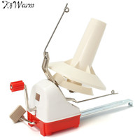 KiWarm Big Size Yarn Fiber String Ball Wool Winder Holder Winder Fiber Hand Operated Cable Winder