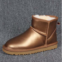 new Classic Outdoor snow boots Australia Mini Women's winter boots ug Tall Gold boots large size us 4-13 free shipping Brand ivg