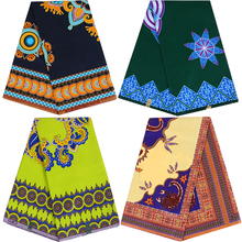 100% cotton Africa Ankara prints batik fabric real dutch wax best quality African tissu sewing material for party dress 6yards