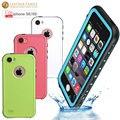 Original para o iphone se caso vida à prova de água de mergulho à prova d' água proteção case para iphone 5 5s 4.0 polegadas com capa impressão digital
