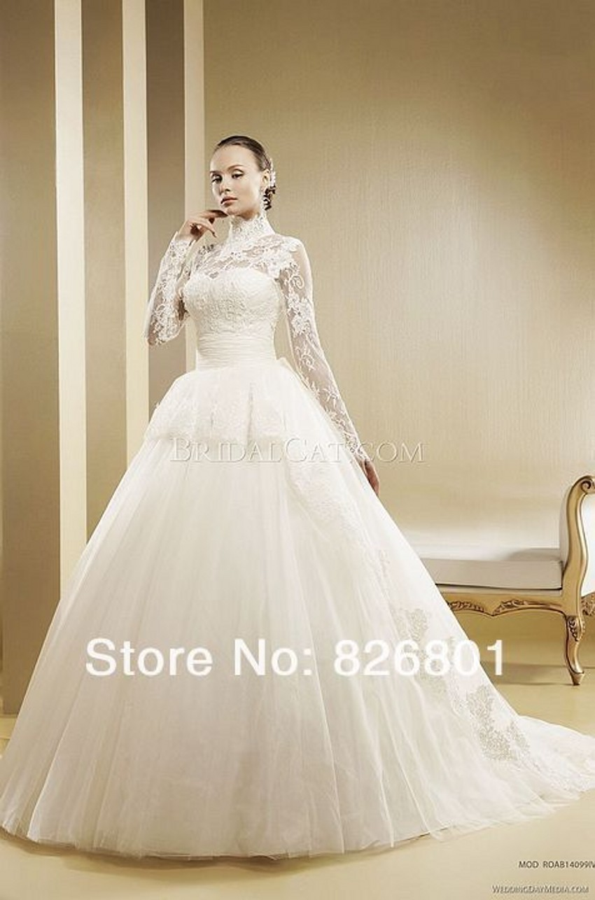 muslim bridal dresses muslim wedding dress Cream Muslim Bridal Dress With Stone work