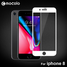 Здесь можно купить  Original Mocolo 9H 2.5D Screen Protector Full Cover Tempered Glass Colorful Silk Glass Film For iPhone 8 plus 2Pcs/Lot in Stock