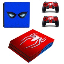 Spiderman PS4 Pro Skin Sticker For Sony Playstation 4 Console & Controller PS4 Pro Skin Sticker Decal Vinyl Spider-man