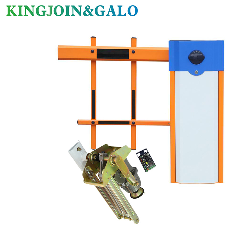 Automatic Barrier Door System For Parking Access