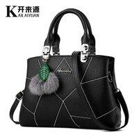 KLY 100 Genuine Leather Women Handbags 2018 New Tide Spring Zipper Bag Ladies Fashion Handbag Crossbody