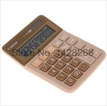 Canon LS-120H small business desktop calculator creative fashion color models of solar desk calculator