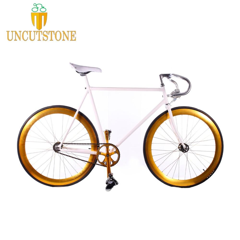 Fixie Bike Steel Frame 700C Track Bicycle Single Speed Bike 52cm 56cm  Fixie Bike Vintage DIY Frame