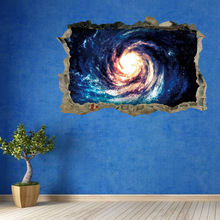 3D Universe Wall Stickers