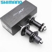 SHIMANO XT HB M8110 B&FH M8110 B Mountain Bike Front Hub 12 Speed Rear Freehub 32 Holes