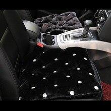 Crystal Studded Rhinestone Car Seat Cushion for Woman Ladies