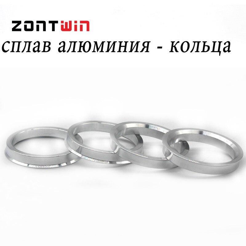 4 teile / lose 65,1 bis 54,1 Hub Zentrischen Ringe OD = 65,1mm ID = - Autoteile - Foto 4