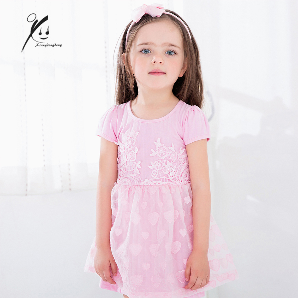 girls dress summer 2017 kids clothing robe fille mariage blush peach white reine des neiges. Black Bedroom Furniture Sets. Home Design Ideas