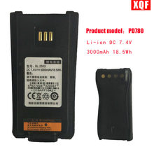 Li-ion DC 7.4V 3000mAh 18.5Wh Battery For Hytera for Hytera PD700 PD780 BL2503 PD705 PD705G PD785 PD785G BL2006 Radio BL 2503(China)